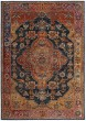 Product Image of Traditional / Oriental Navy, Gold (C) Area Rug