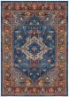 Product Image of Traditional / Oriental Blue, Rose (R) Area Rug