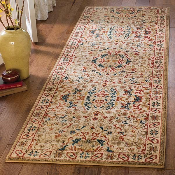 Ivory (C) Traditional / Oriental Area Rug
