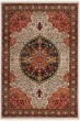 Product Image of Ivory, Red (D) Traditional / Oriental Area Rug