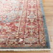 Product Image of Blue, Red (A) Contemporary / Modern Area Rug