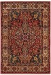 Product Image of Contemporary / Modern Ivory, Red (L) Area Rug