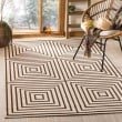 Product Image of Natural, Brown (B) Contemporary / Modern Area Rug