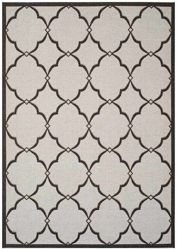 Light Grey, Charcoal (A) Moroccan Area Rug