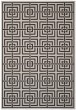 Product Image of Light Grey, Charcoal (A) Contemporary / Modern Area Rug