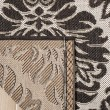Product Image of Light Grey, Charcoal (A) Damask Area Rug