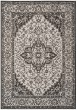 Product Image of Traditional / Oriental Light Grey, Charcoal (A) Area Rug