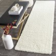 Product Image of Ivory (A) Shag Area Rug
