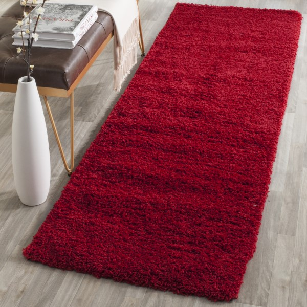 Red (H) Shag Area Rug