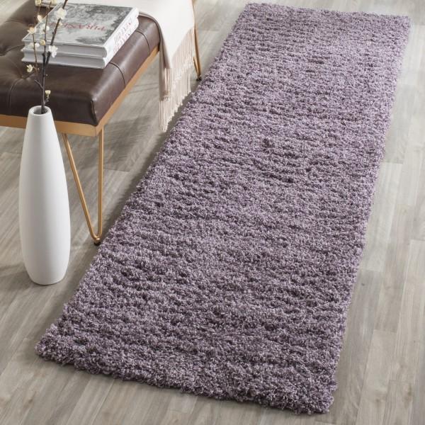 Purple (P) Shag Area Rug