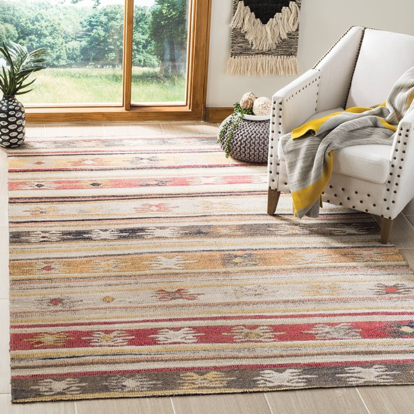 Taupe (E) Outdoor / Indoor Area Rug