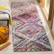 Product Image of Red (A) Geometric Area Rug
