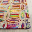 Product Image of Pink, Blue Geometric Area Rug