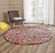 Product Image of Pink, Purple (A) Floral / Botanical Area Rug