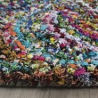 Product Image of Pink, Blue (A) Floral / Botanical Area Rug