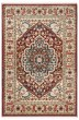 Product Image of Traditional / Oriental Beige, Red, Blue (1221B) Area Rug