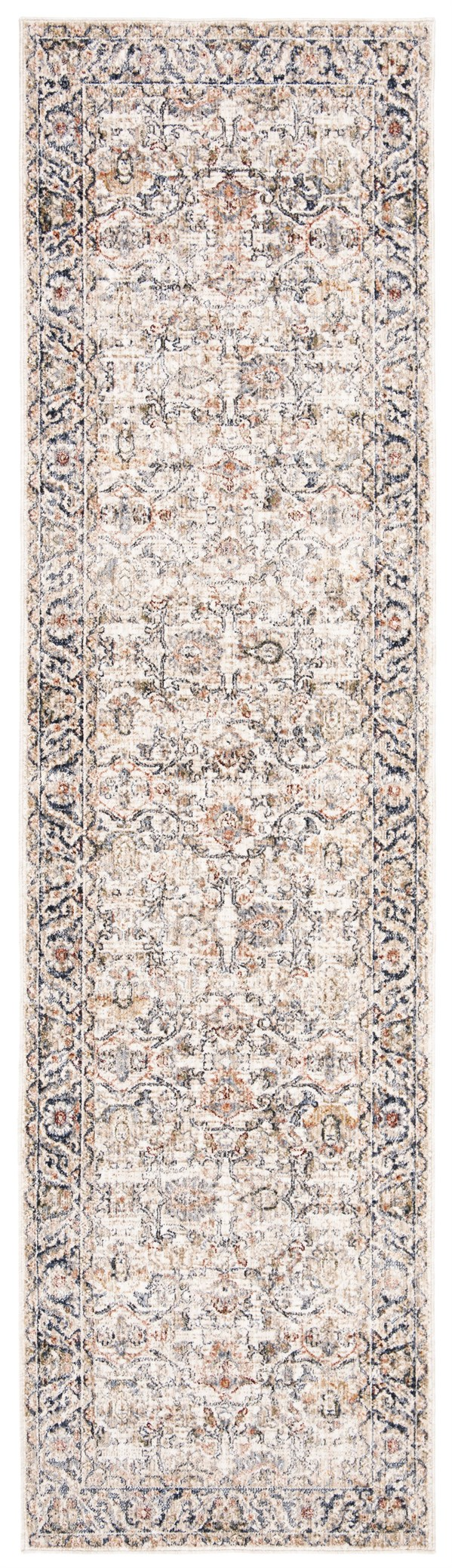 Ivory Traditional / Oriental Area Rug