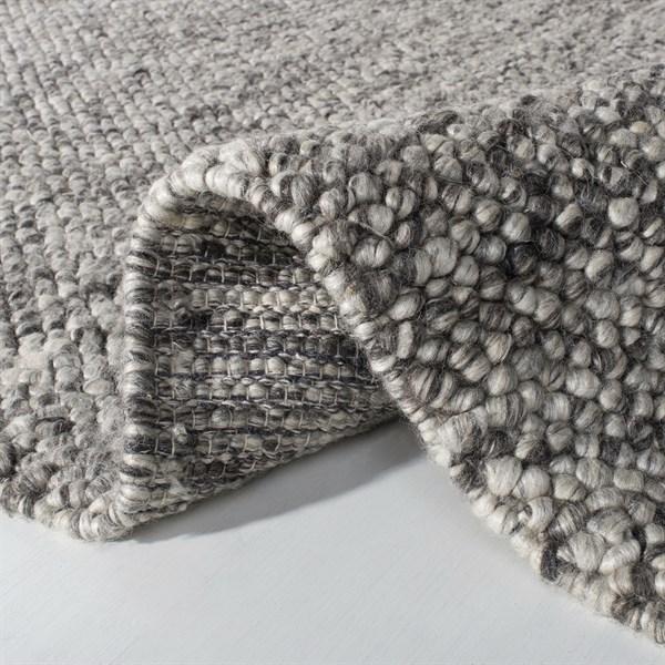 Dark Grey (D) Rustic / Farmhouse Area Rug