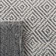 Product Image of Black, Cream Natural Fiber Area Rug