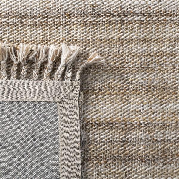 Tan, Brown Casual Area Rug