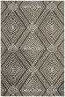 Product Image of Charcoal, Ivory Geometric Area Rug