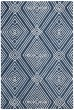 Product Image of Geometric Navy, Ivory Area Rug