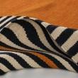 Product Image of Orange, Black, Light Grey (A) Contemporary / Modern Area Rug