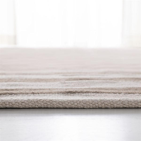 Brown, Ivory (C) Contemporary / Modern Area Rug