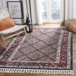 Product Image of Ivory, Navy (A) Boho Chic Area Rug