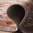 Product Image of Taupe, Orange (E) Boho Chic Area Rug