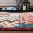Product Image of Navy, Red (N) Bohemian Area Rug