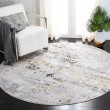 Product Image of Cream, Gold (A) Contemporary / Modern Area Rug