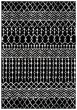 Product Image of Moroccan Black, Ivory (Z) Area Rug