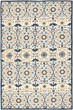 Product Image of Moroccan Ivory, Navy (A) Area Rug