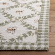 Product Image of Ivory, Green (A) Floral / Botanical Area Rug