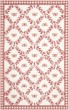 Product Image of Floral / Botanical Ivory, Rose (C) Area Rug