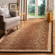 Product Image of Black, Brown (A) Animals / Animal Skins Area Rug