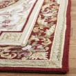 Product Image of Ivory, Burgundy (A) Traditional / Oriental Area Rug