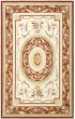 Product Image of Traditional / Oriental Ivory, Burgundy (A) Area Rug