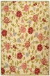 Product Image of Floral / Botanical Ivory, Green (A) Area Rug