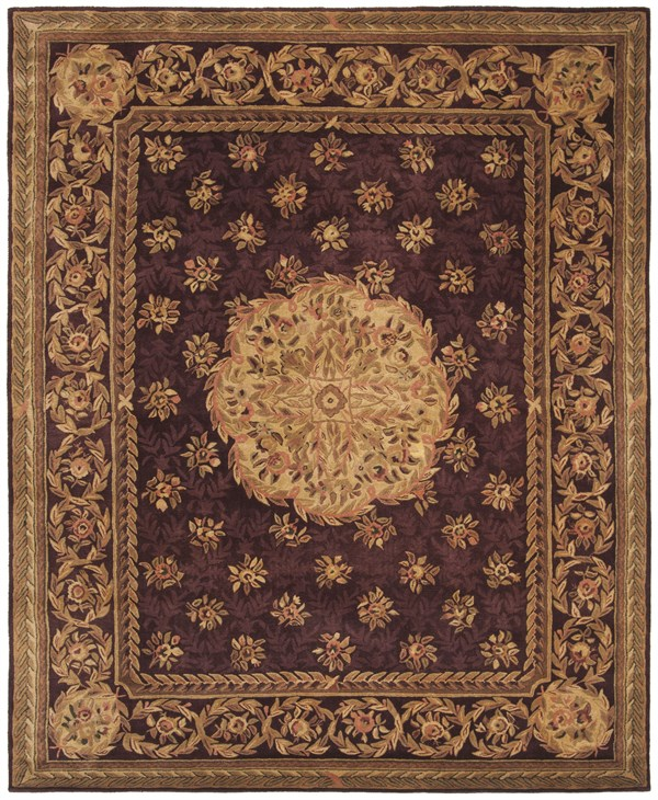 Red, Gold (A) Traditional / Oriental Area Rug