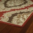 Product Image of Salsa, Sage Green, Brown (2357) Traditional / Oriental Area Rug