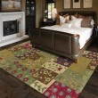 Product Image of Ivory, Sage Green, Lilac (1001) Transitional Area Rug