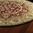 Product Image of Burgundy, Sage Green, Chocolate (04) Traditional / Oriental Area Rug