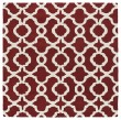 Product Image of Red, Ivory (25) Moroccan Area Rug