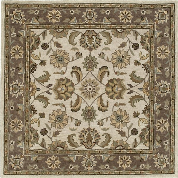 Linen, Sage Green, Taupe (42) Traditional / Oriental Area Rug