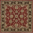 Product Image of Traditional / Oriental Salsa, Sage Green, Chocolate (57) Area Rug