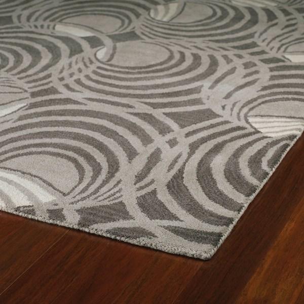Graphite, Ivory (68) Contemporary / Modern Area Rug