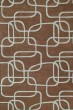 Product Image of Contemporary / Modern Brown, Light Blue (49) Area Rug