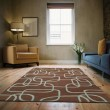 Product Image of Brown, Light Blue (49) Contemporary / Modern Area Rug